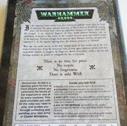 '.Warhammer 40,000 Rulebook.'