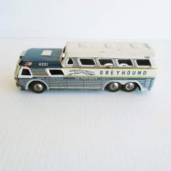 Greyhound Scenicruiser Bus, Tin Litho, Japan, 1960s