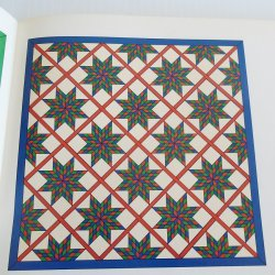 '.Blazing Star quilt pattern.'