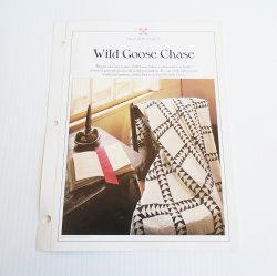 '.Wild Goose Chase Quilt pattern.'