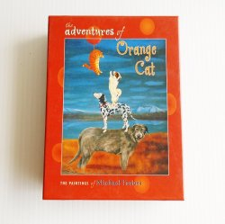 Adventures of Orange Cat, 20 All Purpose Greeting Cards