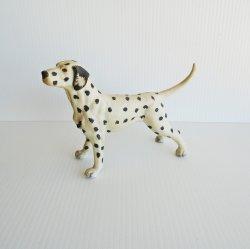 Dalmatian Statue Figurine, Unknown Vintage Age, 5 x 7 inch