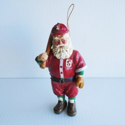 Kurt S. Adler All Star Santa, Vintage Christmas Ornament