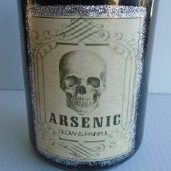 '.Decorative Arsenic Bottle.'
