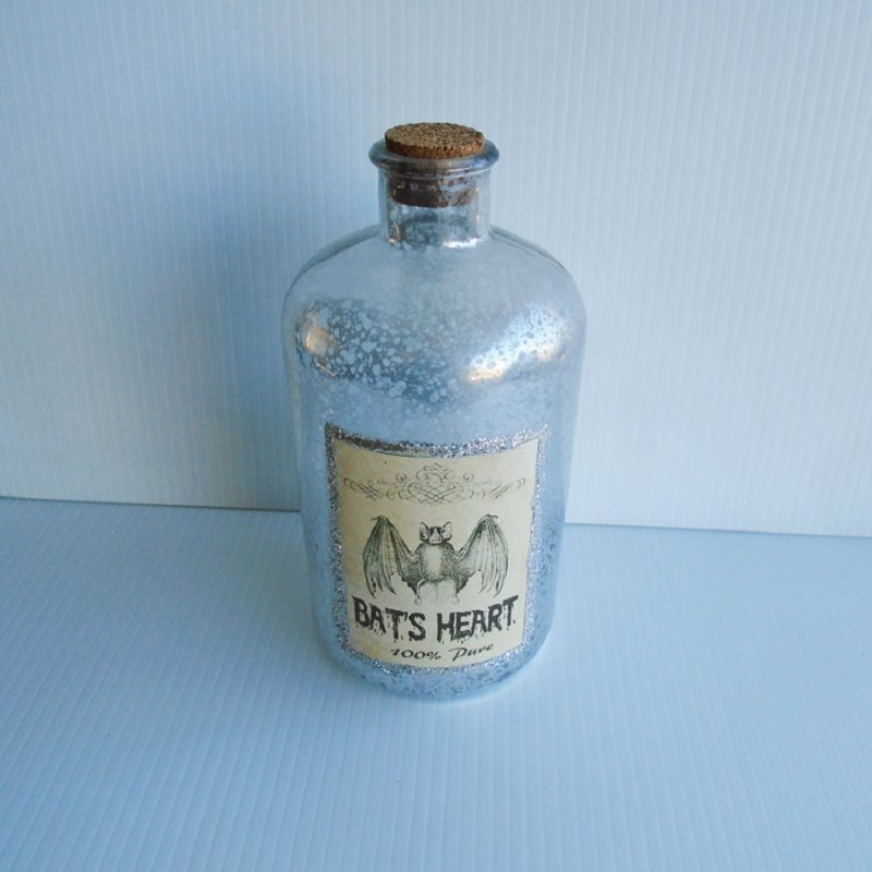 Decorative  bottle labeled