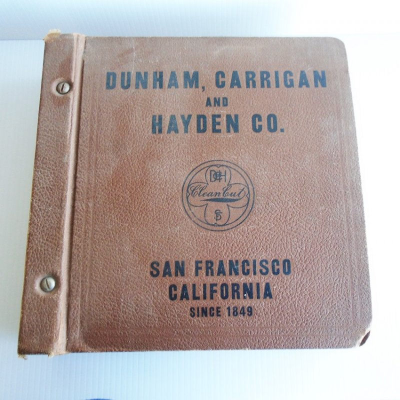 Dunham Carrigan Hayden of San Francisco Antique General Purpose Catalog. Huge, over 2,342 pages. Estimated 1920s.