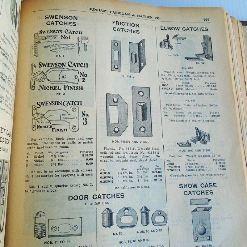 Dunham Carrigan Hayden of San Francisco Antique General Purpose Catalog. Huge, over 2,342 pages. Estimated 1920s.