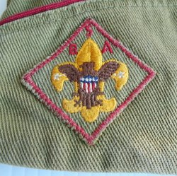 '.Boy Scouts Garrison Flat Hat.'