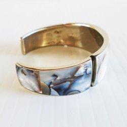 '.M.O.P. Abalone Cuff Bracelet.'