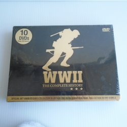 WWII The Complete History, 10 DVD set, 30 hours, Unopened