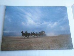 Wells Fargo Stagecoach 14x20 Vintage Western Poster