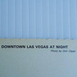 '.Las Vegas Postcard 1960s 70s.'