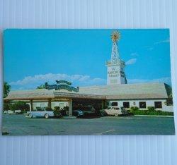 El Rancho Hotel, Las Vegas Nevada Vintage 1956 Postcard
