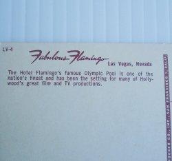 '.Flamingo Hotel Vegas 1950s.'