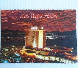 Las Vegas Hilton Hotel Casino Vintage Postcard
