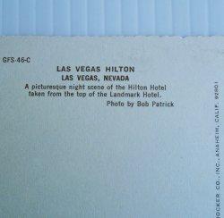 '.Las Vegas Hilton 1960s.'