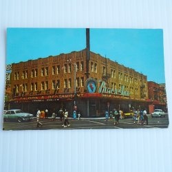 Horseshoe Club, Downtown Las Vegas Vintage 1950s Postcard