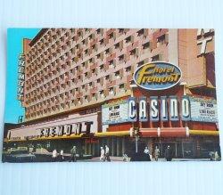 Fremont Hotel Casino Downtown Las Vegas 1960s Postcard