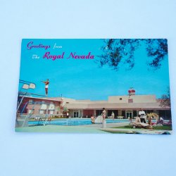 Royal Nevada Hotel Las Vegas, 1955 Postcard