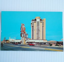 Sands Hotel Las Vegas Vintage Postcard, Tower View