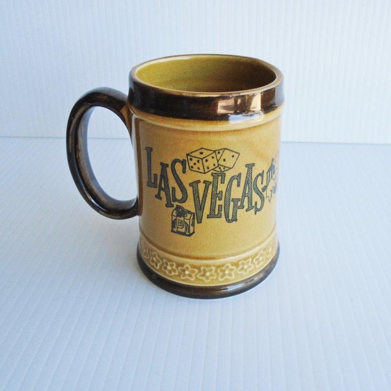 Circus Circus Las Vevas Nevada Early 1970s vintage coffee cup mug
