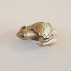 Phoenix Pewter Turtle, 1.5 by 2 inch, PN5483
