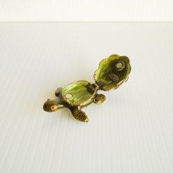 '.Gemmed turtle trinket box.'
