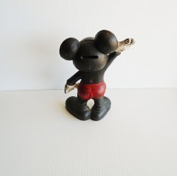 '.1930s Mickey Mouse Coin Bank .'