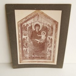 '.Antique Alinari Print, Jesus .'