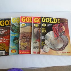 Gold Magazine, 5 issues, 1975 and Special 1980, Treasures