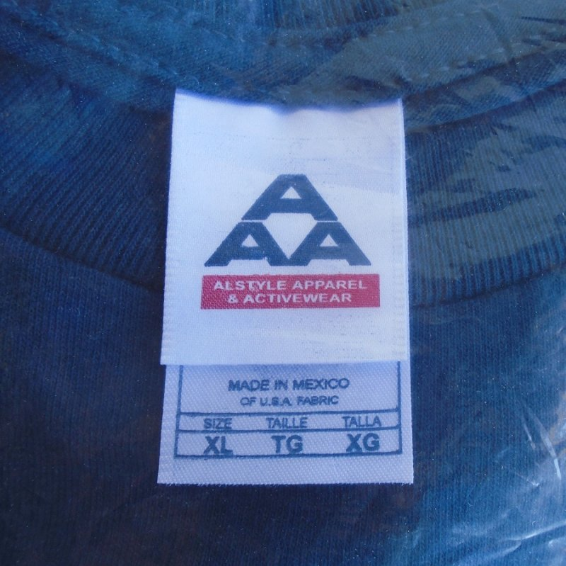 Reno Nevada 2007 Street Vibrations Tee Shirt in unopened package. Blue. Size XL. Estate find.