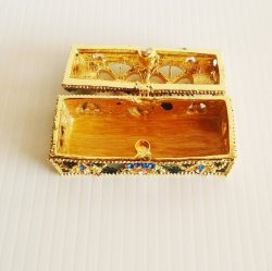 '.Jeweled Trinket Box, Objet d'A.'