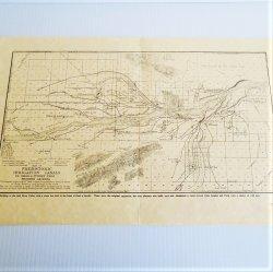 Phoenix Arizona, SRP Salt River Project, 4 maps, 1929 1960s