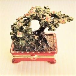 Bonzai Plant Trinket Box, Objet d'Art 36, New