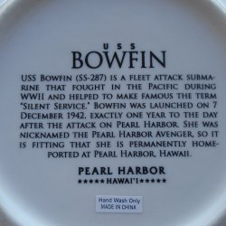 '.U.S.S. Bowfin Submarine SS-287.'