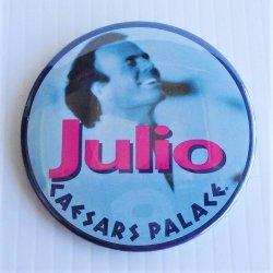 "Julio Iglesias Caesars Palace 1980s Pinback, 2 Different 3"""