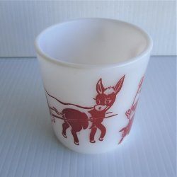 '.Hazel Atlas Child's 1950s Cup.'