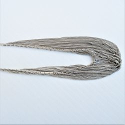 '.Multi strand 925 necklace, 18.'