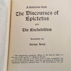 '.Discourses of Epictetus.'