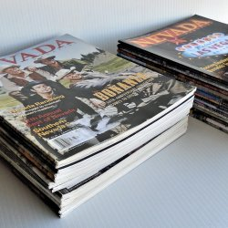 Nevada Magazine, 32 Various Issues, 2009 to 2021