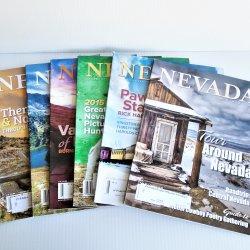 Nevada Magazine, 2015 entire year, 6 issues