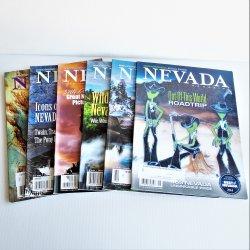 Nevada Magazine, 2014 entire year, 6 issues