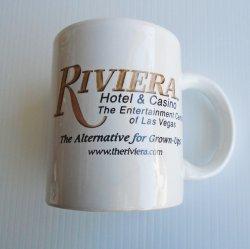 '.Riviera Hotel Coffee Cups.'