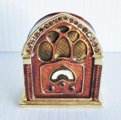 Objet d'Art Golden Age Radio Trinket Box #232