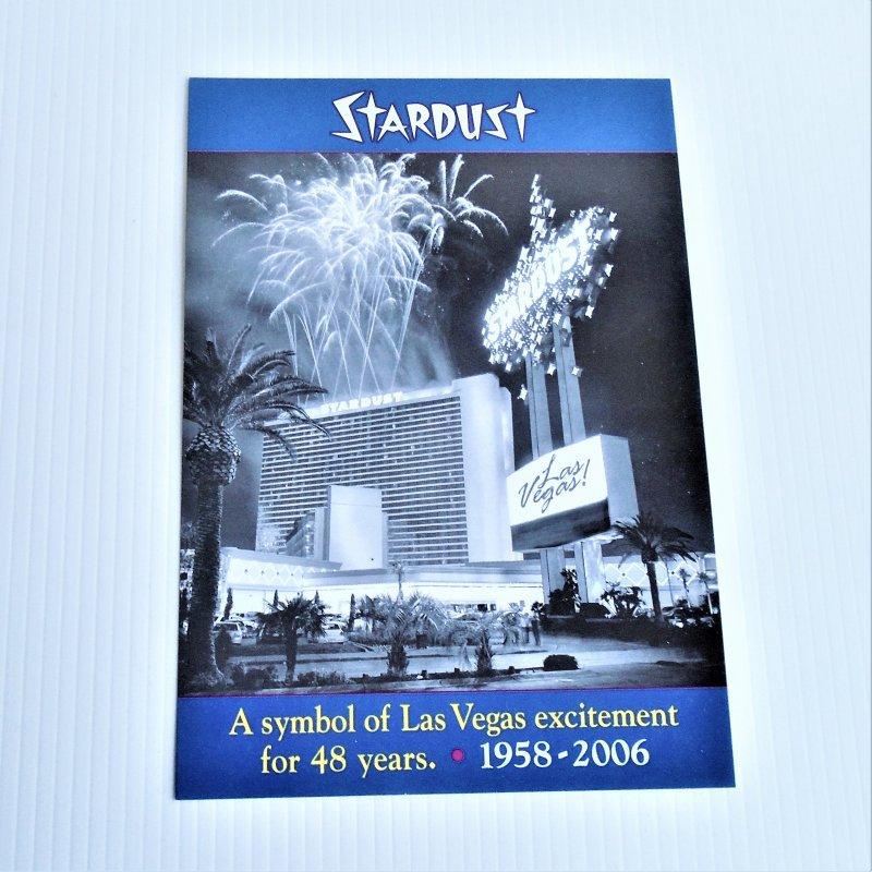 Stardust Hotel Casino Las Vegas 7 by 10 inch photo. 1958 - 2006