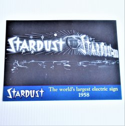 Stardust Hotel Las Vegas Electric Sign 10x7 Photo