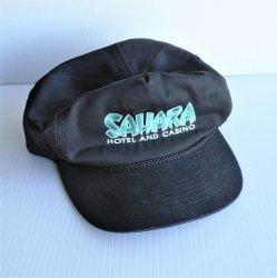 Sahara Hotel Casino Las Vegas Baseball Cap Hat, pre 2011