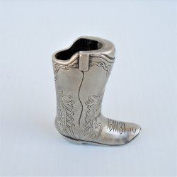 Cowboy Boot Mini Bic Lighter Holder, Never used