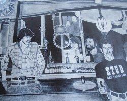 '.Stud Bar, San Francisco 1978.'