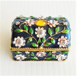 Objet d'Art Sophistique Jeweled Trinket Box #80